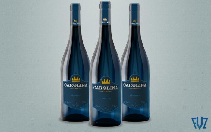 Rótulo Vinho Queen Caroline
